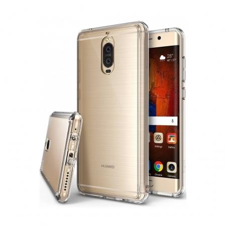 Ringke Fusion - Husa pentru Huawei Mate 9 Pro, Clear + Folie protectie ecran
