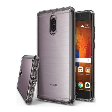 Ringke Fusion - Husa pentru Huawei Mate 9 Pro, Smoke Black + Folie protectie ecran
