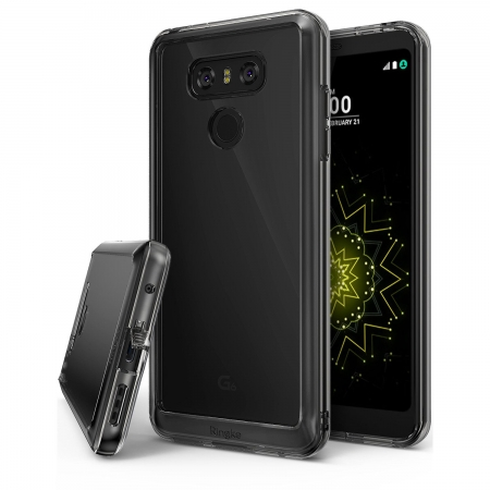 Ringke Fusion - Husa pentru LG G6, Smoke Black