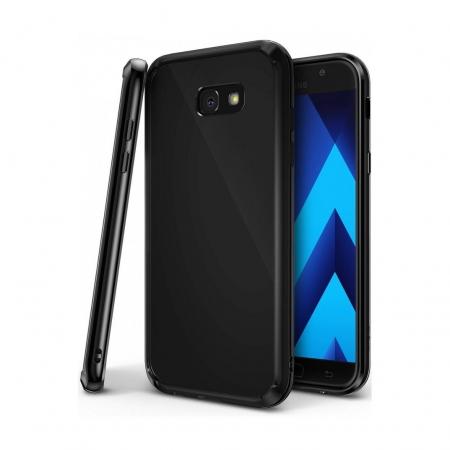 Ringke Fusion - Husa pentru Samsung Galaxy A5 (2017), Shadow Black + Bonus Folie protectie ecran