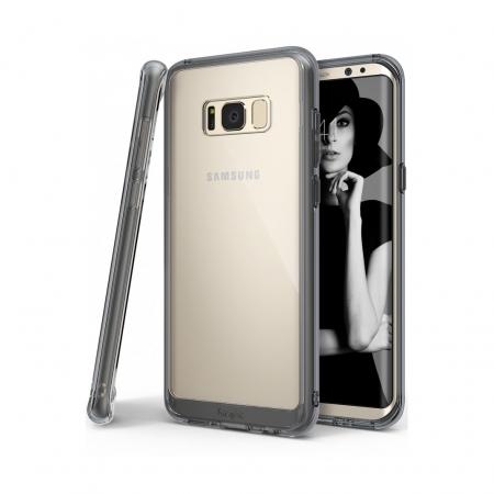 Ringke Fusion - Husa pentru Samsung Galaxy S8 Plus, Smoke Black