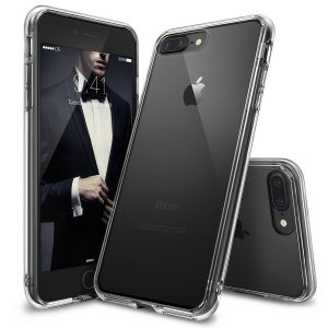 Ringke Fusion Smoke - Carcasa pentru iPhone 7, negru