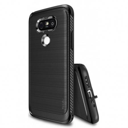 Ringke Husa eco onyx + folie pentru LG G5, black