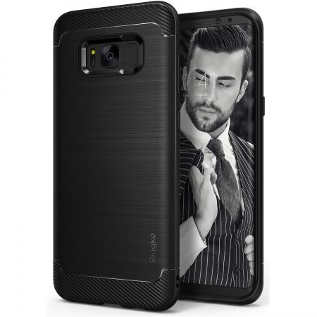 Ringke Husa pentru Samsung Galaxy S8 Plus, Onyx Black