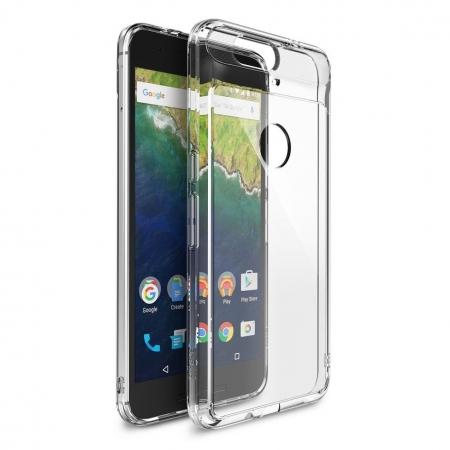 Ringke Nexus 6P Fusion - capac crystal view + folie