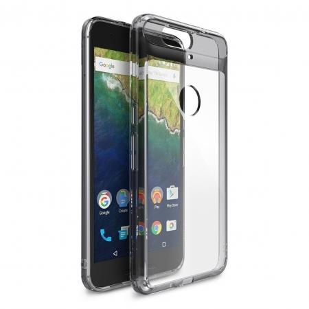 Ringke Nexus 6P Fusion - capac smoke black + folie