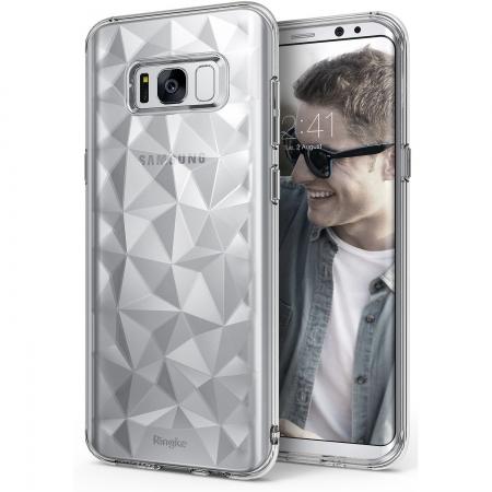 Ringke Prism - Husa pentru Samsung Galaxy S8, Clear