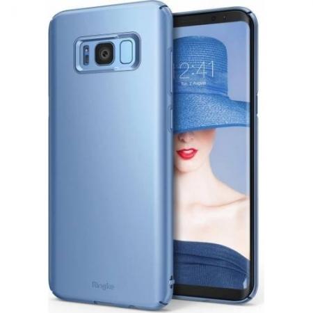 Ringke Slim Husa pentru Samsung Galaxy S8 Plus, Blue Pearl