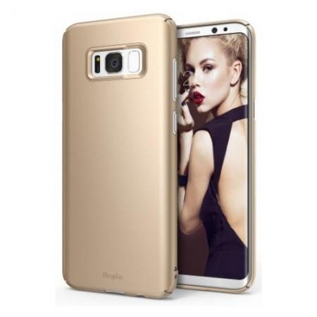 Ringke Slim - Husa pentru Samsung Galaxy S8 Plus, Royal Gold