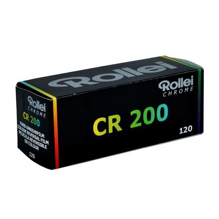 Rollei CHROME CR 200 120 - film diapozitiv color lat  ISO 200