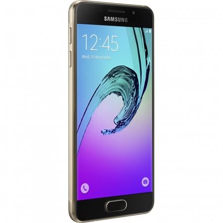 SAMSUNG Galaxy A5 2016 Dual Sim 16GB LTE 4G Auriu A5100 RS125029601