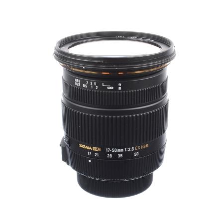 SH Sigma 17-50mm f/2.8 DC EX HSM OS Nikon - SH 125038274