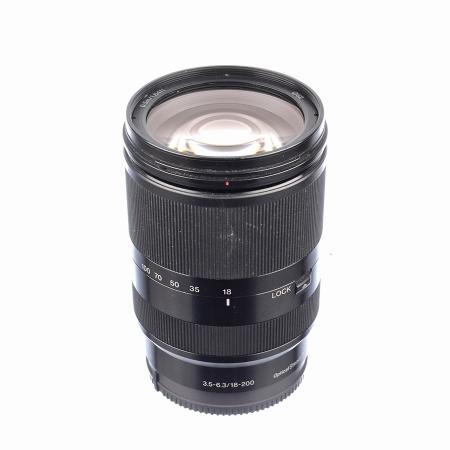 SH Sony 18-200mm f/3.5-6.3 OSS LE pentru Sony NEX (E-Mount) - SH125039071