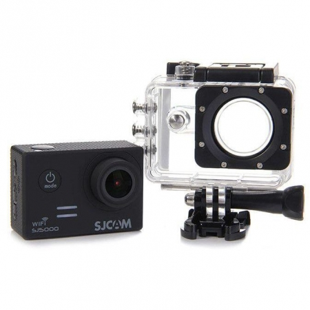 SJCAM SJ5000 Wi-Fi - Camera video sport, Negru