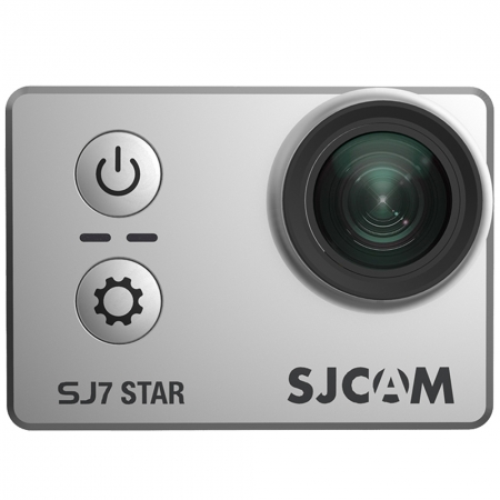 SJCAM SJ7 Star - Camera video sport, 4K, 12.4MP, Wi-Fi, Argintiu