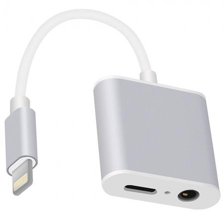 STAR Adaptor Pentru Casti Cu Conector Lightning Apple iPhone 7, iPhone 7 Plus