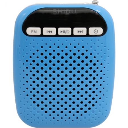 STAR - Amplificator Voce si Microfon cu Fir, Albastru