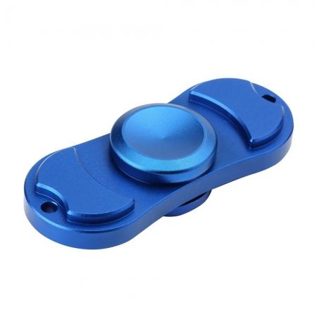 STAR Fidget Spinner - Jucarie Antistres Metalica - Albastru