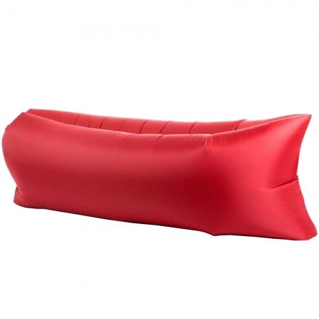 STAR Lazy Bag - Saltea Gonflabila 240 X 70 cm, Rosu