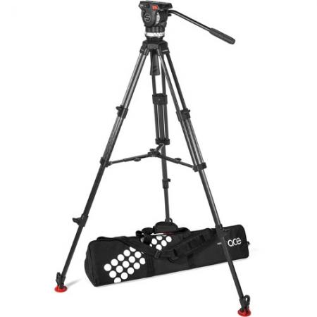 Sachtler Ace XL - Trepied cu picioare CF & spreader de mijloc