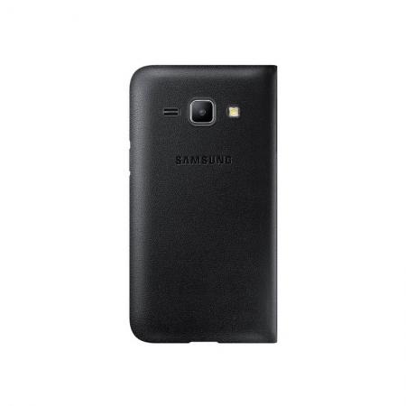 Samsung EF-FJ100BB - husa agenda Samsung Galaxy J1 - negru