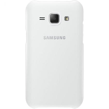 Samsung EF-PJ100BW - capac spate pentru Samsung Galaxy J1 - alb