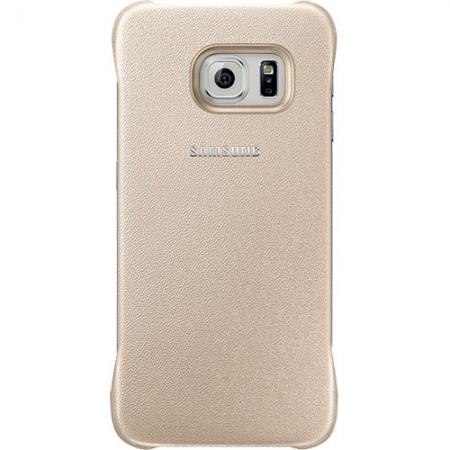 Samsung EF-YG925BFE - Husa Capac spate Samsung Galaxy S6 Edge - auriu