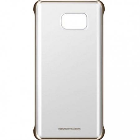 Samsung EF-qN920 - Husa capac Clear Galaxy Note 5 - auriu