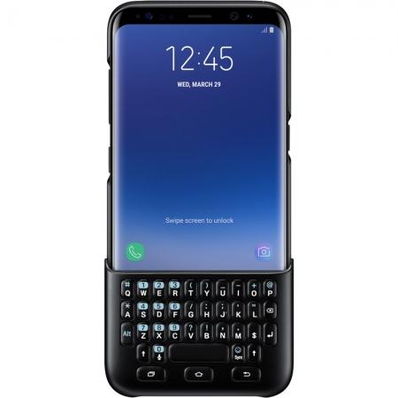 Samsung EJ-CG950 - Husa Keyboard Samsung Galaxy S8 - Negru