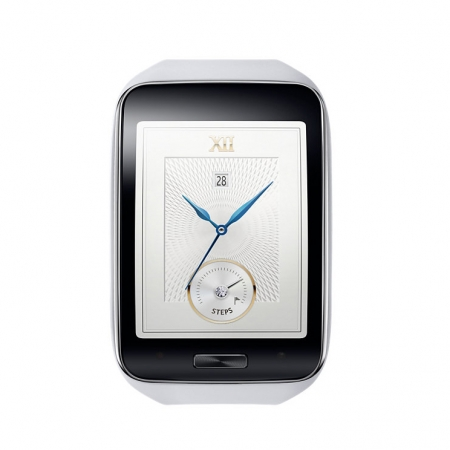 Samsung Galaxy Gear S - Smartwatch - alb