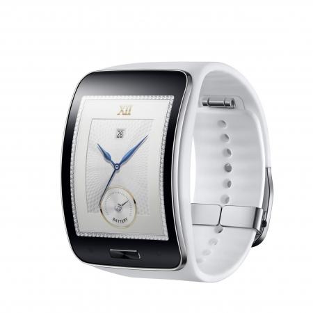 Samsung Galaxy Gear S - Smartwatch - alb