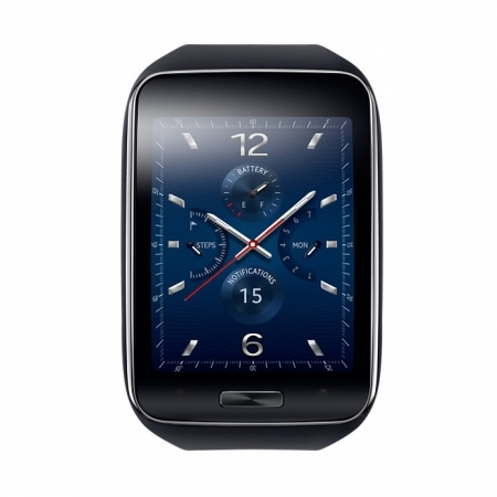 Samsung Galaxy Gear S - Smartwatch - negru