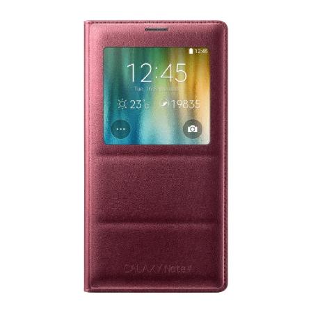 Samsung Galaxy Note 4 S-View - husa de protectie, Electronic Plum