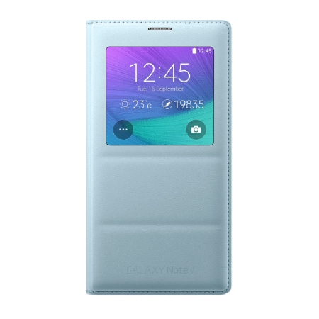 Samsung Galaxy Note 4 S-View - husa de protectie, Mint