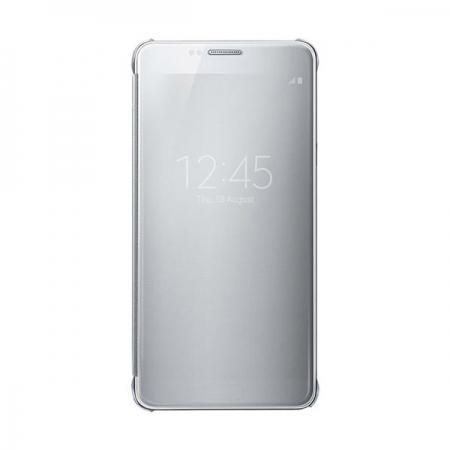 Samsung Galaxy Note 5 - husa agenda clear view - alb