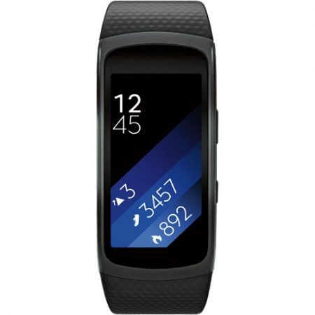 Samsung Gear Fit 2 - Smartwatch, Negru