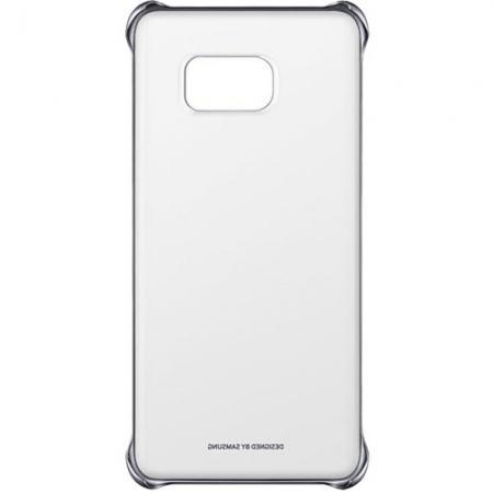 Samsung Husa Capac spate Clear Cover Samsung Galaxy S6 Edge Plus - argintiu