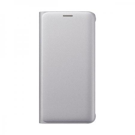 Samsung - Husa Flip Wallet Samsung Galaxy S6 Edge Plus G928 - argintiu
