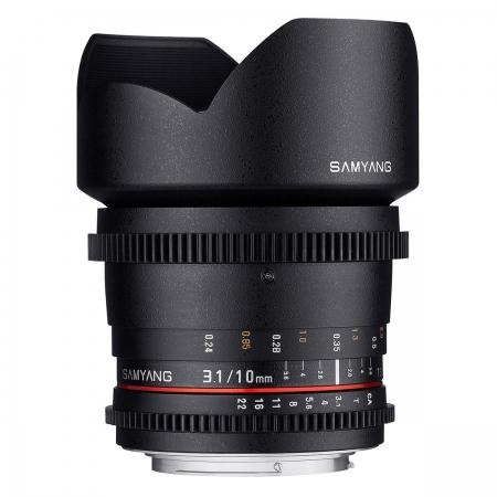 Samyang 10mm T3.1 VDSLR Canon EF-M