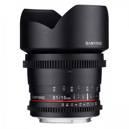 Samyang 10mm T3.1 VDSLR II Canon EF