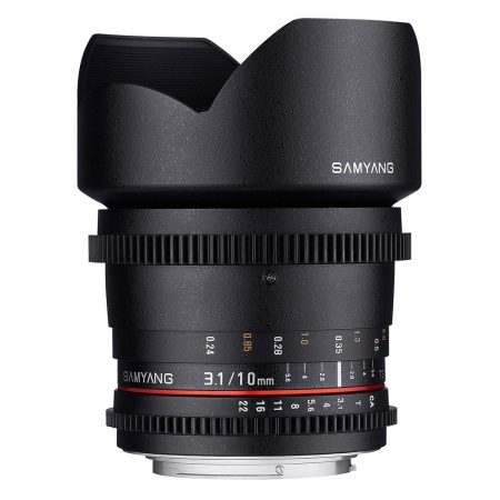 Samyang 10mm T3.1 VDSLR Sony A