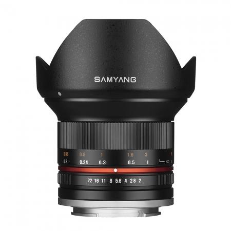 Samyang 12mm 2.0 NCS CS - montura Fujifilm X