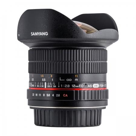 Samyang 12mm F2.8 AE NCS Fisheye Nikon