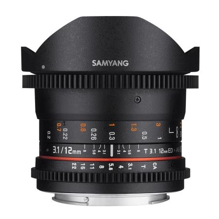 Samyang 12mm T3.1 VDSLR Canon