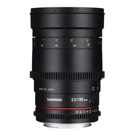 Samyang 135mm T2.2 ED UMC VDSLR pentru Sony E