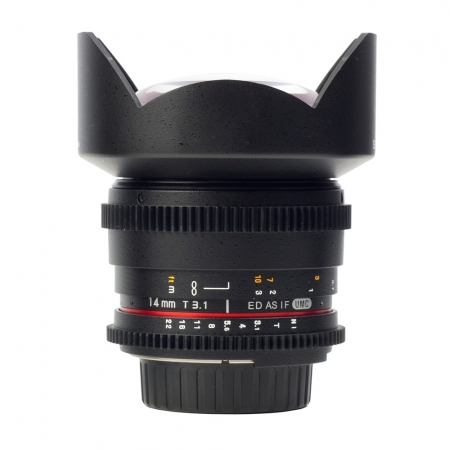 Samyang 14mm T3.1 Pentax VDSLR