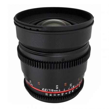 Samyang 16mm T2.2 Sony VDSLR