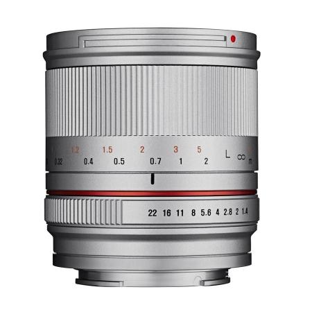 Samyang 21mm f/1.4 Fujifilm X argintiu