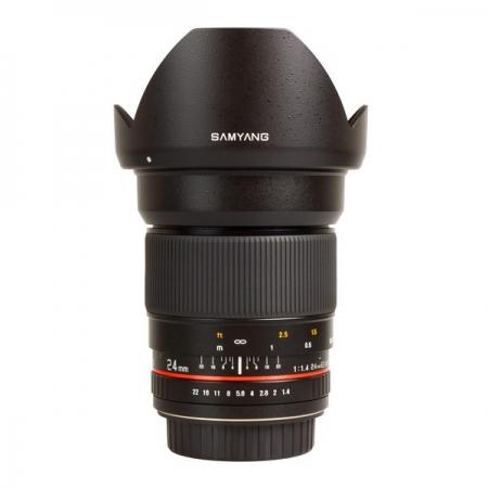 Samyang 24mm F1.4 montura Olympus 4/3
