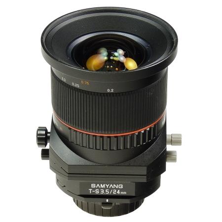 Samyang 24mm F3.5 Tilt/Shift Nikon - SH6424